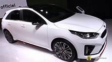 kia ceed gt 2019 2019 kia ceed gt exterior and interior walkaround