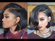 cute hairstyles for long bobs cute short bob hairstyles and haircuts for black women ideas 2017 youtube