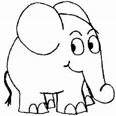 Malvorlage Kleiner Elefant Ausmalbild Elefant Sendung Maus Kinder Ausmalbilder