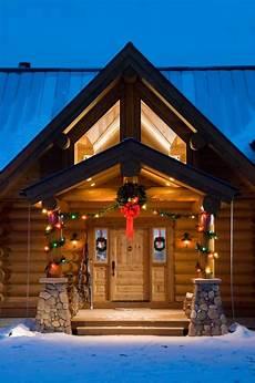 36 log cabin christmas wallpaper wallpapersafari