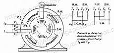 electrical control circuit schematic diagram of capacitor start motor technovation