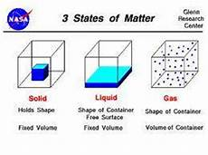 state the three states of matter science form 1