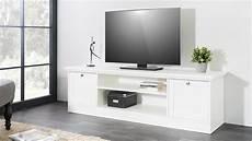 tv lowboard weiß landhausstil tv board landwood lowboard hifi in wei 223 mit 2 f 228 chern