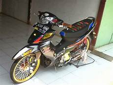 Modifikasi Motor Shogun by Gambar Modifikasi Motor Suzuki Shogun Sp Terbaru