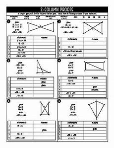 geometry proofs worksheets two column 921 congruent triangles practice and proofs geometry by miss jude math