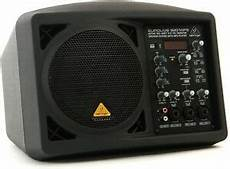 behringer b207mp3 active 150 watt 6 5 quot pa monitor speaker system with mp3 player 692757535425 ebay