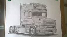 scania drawing on a2 sized paper tegninger