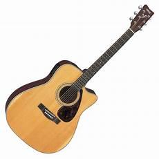 yamaha fx370c electro acoustic guitar at gear4music