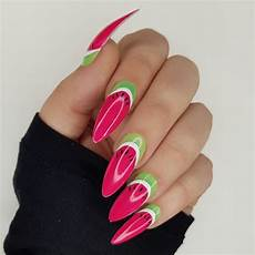 tropical watermelon nail art watermelon nail art