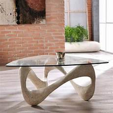 Monza Solid Glass Coffee Table F D Brands
