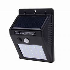 20 25 30 led solar power pir infrared motion sensor wall