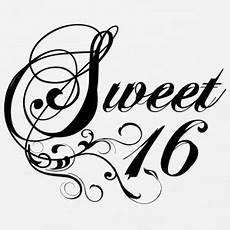 Sweet Sixteen Clipart