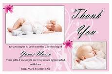 thank you card bautism template word baptism invitations free baptism invitation template