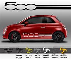 professionally made fiat 500 decals die cut vinyl by