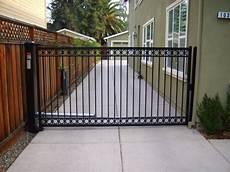 swing gate single swing gate contemporary exterior san