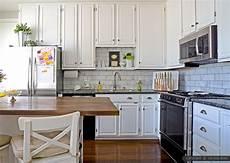 Large Tile Kitchen Backsplash 10 Subway White Marble Backsplash Tile Idea Backsplash