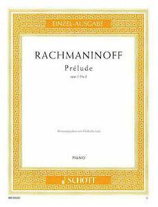 pr 233 lude in c sharp minor op 3 no 2 sergei rachmaninoff 73999298864 ebay