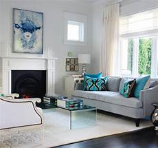 blue velvet sofa contemporary living room benjamin