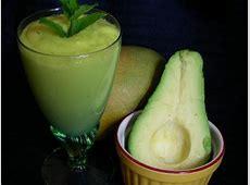 green machine smoothies  mango and avocado_image