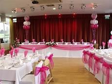 hot pink wedding decoration ideas hot pink wedding decorations done at the fry club keynsha