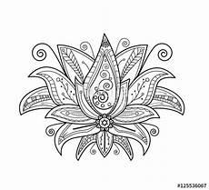 disegni fiore di loto quot vector illustration of lotus flower for coloring book