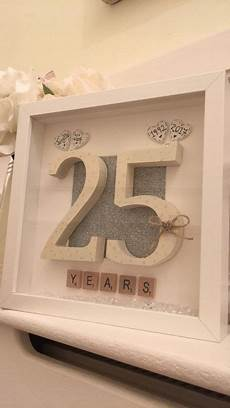 personalised 25th wedding anniversary scrabble art