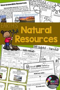resources renewable nonrenewable and living nonliving resources teaching activities