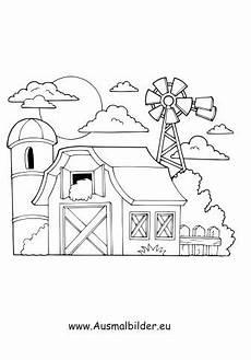 Kostenlose Malvorlagen Haus Ausmalbild M 252 Hle Mit Bildern Ausmalbilder Ausmalen