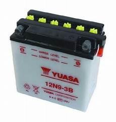 Batterie Moto Yuasa 12v 9ah Avec Entretien 12n9 3b
