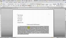 how to write a paragraph using mla style guidelines youtube