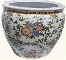 p0tzxs furnishings porcelain fish bowl planter