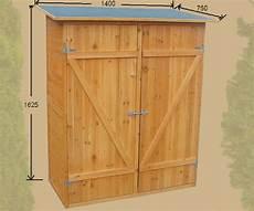 armadietti legno armadio in legno da esterno 162 x 140 x 75 cm resistente