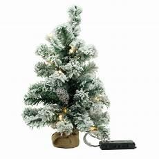weihnachtsbaum kunststoff weihnachtsbaum beschneit 45cm mit led bel kunststoff