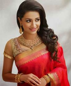 Indian Hairstyle For Hair In Saree