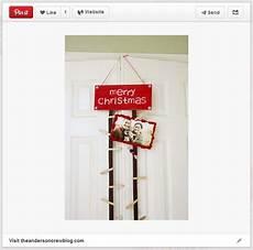 diy hanging christmas card holder unoriginal mom