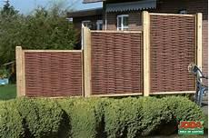 Weide Sichtschutz Zum Stecken Gartenarbeit Ideen Ein