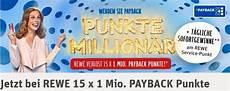 Rewe Payback Quot Punkte Million 228 R Quot Aktion Im Check