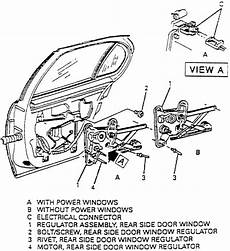 repair voice data communications 1998 chevrolet s10 auto manual service manual 1998 buick lesabre remove driver door panel the passenger side rear window on