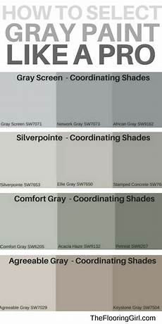 what are the most popular shades of gray paint the
