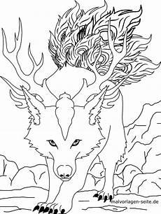 Anime Malvorlagen Pdf Malvorlage Wolf Kostenlose Ausmalbilder