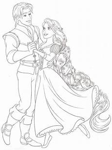 Malvorlagen Disney Rapunzel Disney Rapunzel Disney Princess New Redesign Style