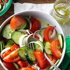 gerichte mit tomaten garden tomato salad recipe taste of home