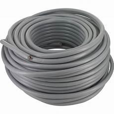 cable electrique gris c 226 ble h05 vv f 2 5 mm 178 couronne 50 m 5g 2 5 mm 178 gris