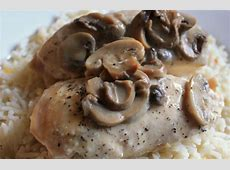 crock pot cheesy chicken and mushrooms_image