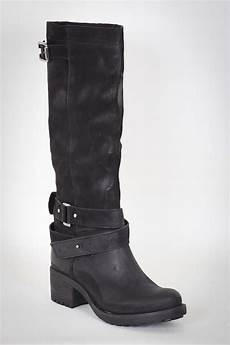 bottes hautes noires femme