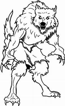 Gratis Malvorlagen Werwolf Coloring Pages Printable Zeichnungen Malen