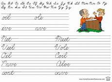 easy handwriting worksheets 21373 this 33 page set of easy cursive review is great for use after all the letters of the