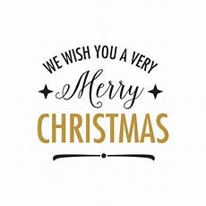 we wish you very merry christmas lettering vector free download