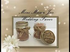 dollar tree s diy mini mason jar candle makes for a great wedding favor youtube