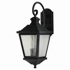 feiss woodside hills 2 light black outdoor wall lantern ol5701bk the home depot